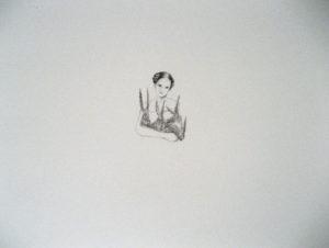Maria Kropfitsch: o. T. ( Berge versetzen), 2014 / Bleistift auf Papier