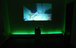 """""""Back from Paradise I"""", Videoinstallation, 2007/2009"""