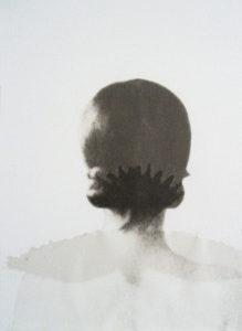 Maria Kropfitsch: o. T. (Portrait), 2013 / Collage