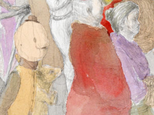 Kirill Schröder, Trauerzug (Detail), 2012
