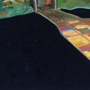 "Charlotte Crome: ""Übergang"" (Detail)"