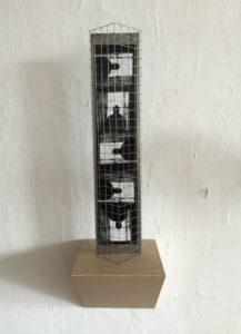 Ele Runge, Fotoinstallation - metalblog-, 2015