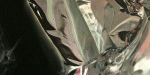 Andreas Becker: Heavy Metal 13, Öl auf Leinwand (Ausschnitt)