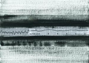 """""""Nacht""""Collage auf Malkarton13x18"""
