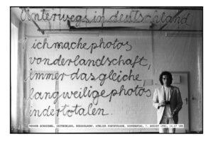 Werner Schmiedel, Selbstportrait, 1980