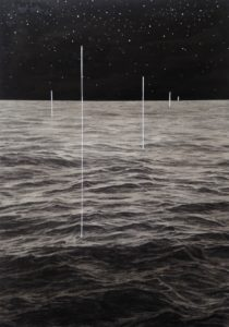 "Frankie Gao: ""Water at the edge of dark jungle #4"""