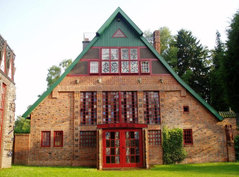 Wohn-und Atelierhaus Nordseite © Stiftung Kunststätte Bossard, Jesteburg