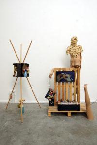 Kyunghee Han, Tages Identität, Kunstbasteln, ca. 4x2x2.5m, Installation, 2019