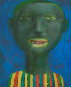 Ohne Titel, 60x50cm, Öl auf Karton, von Ilia Kobeshavidze