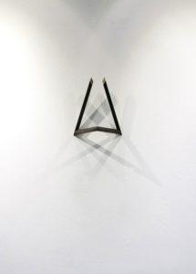 Pan ́s Antler, ca. 37x45x16cm, Metall, 2010