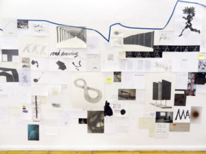 42, 2013, Installation, mixed media,Teilansicht