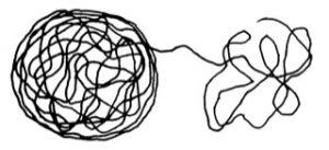 R&STkollektiv, ONE - WHO - T(HERE) oder Individuum - Gesellschaft - Planet, 2021, Zeichnung aus: Die Reihe der Planeten